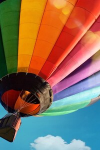 1080x2280 Colorful Hot Air Ballon