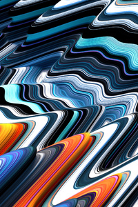 Colorful Illustration Abstract 4k