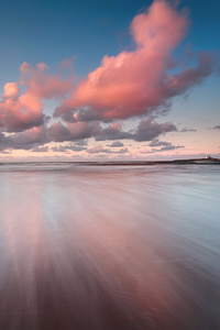Colorful Sea Sky Clouds Hd