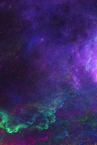800x1280 Colorful Space