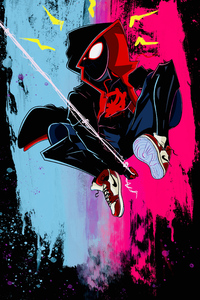 Colorful Spider Verse Art