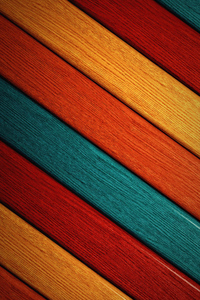 Colorful Wood Pattern Abstract 4k