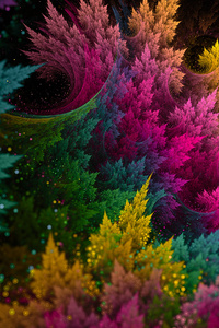 480x854 Colors Of Mind 4k