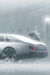 640x1136 Concept Rolls Royce