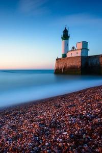 1080x1920 Concrette Stones Lighthouse 5k