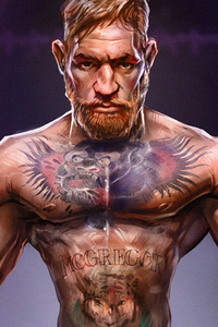 1242x2688 Conor McGregor Ufc