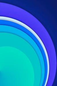480x854 Cool Circle Abstract Shape 8k