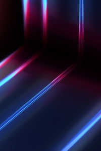 1080x2160 Cool Synth Lines Abstract 5k