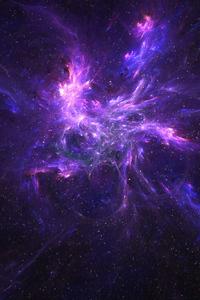 1280x2120 Coral Nebula