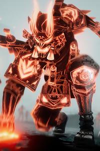 1440x2960 Corrupted Legends Fortnite