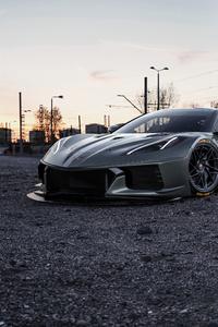 480x800 Corvette 2020 4k