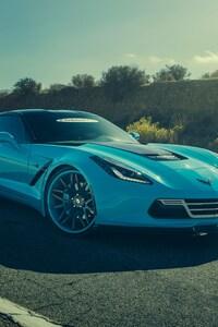 640x1136 Corvette Chevrolet Forgiato
