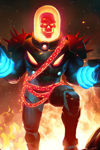 1440x2560 Cosmic Ghost Rider Marvel Contest Of Champions