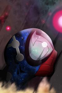 Cosmic Spiderman
