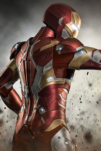 2160x3840 Cosplay Iron Man 4k