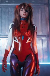 1080x2160 Cosplay Of Neon Genesis Evangelion Asuka Langley 4k