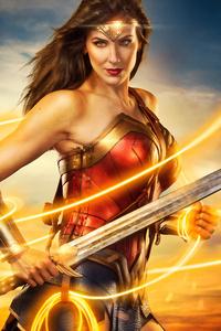 240x320 Cosplay Of Wonder Woman 8k