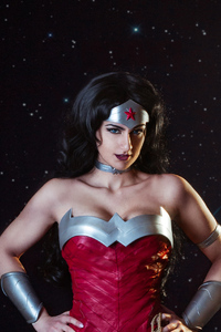 Cosplay Of Wonder Woman