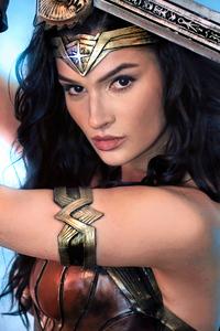 750x1334 Cosplay Of Wonder Woman Girl 5k