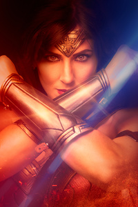 Cosplay Wonder Woman 4k