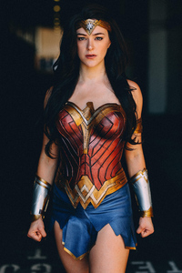 720x1280 Cosplay Wonder Woman 5k