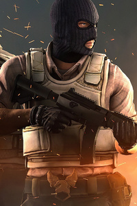 240x400 Counter Strike Global Offensive 4k New