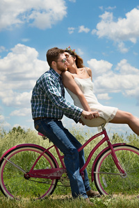 1440x2960 Couple Bike Romantic