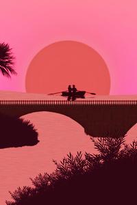 360x640 Couple Boat Romantic Ride