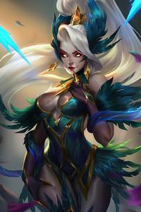 480x800 Coven Zyra League Of Legends Fan Art 4k