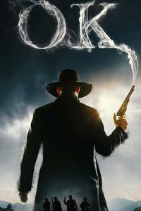 1080x2160 Cowboy With Gun