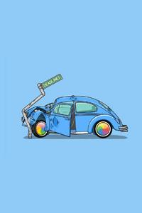 Crash Car Minimalism
