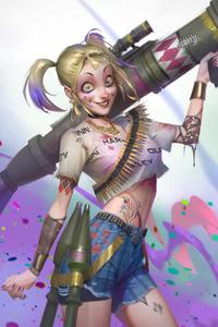 Crazy Harley Quinn 4k
