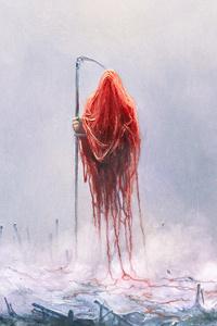 1125x2436 Creepy Reaper 5k