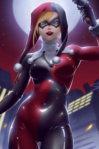 1440x2560 Criminal Harley Quinn