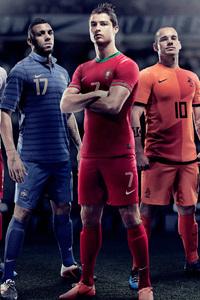 320x480 Cristiano Ronaldo Nike Players 5k