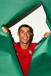 Cristiano Ronaldo Portugal Portrait 2018
