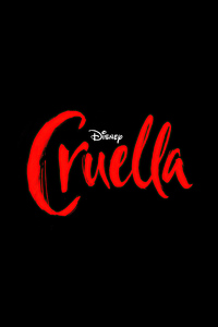 720x1280 Cruella Movie Logo 4k