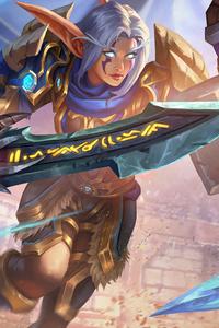 800x1280 Crusader Qerat World Of Warcraft 5k