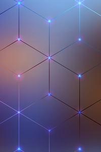 640x1136 Cube Geometry Digital Art 4k
