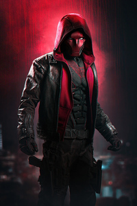 1440x2560 Curran Red Hood 5k