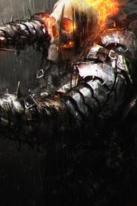 640x1136 Cursed Ghost Rider