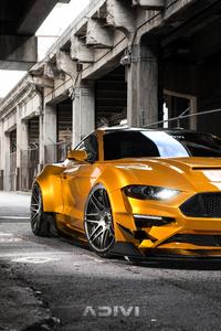 480x854 Custom Ford Mustang 4k