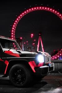 Custom Mercedes G Wagon London Eye