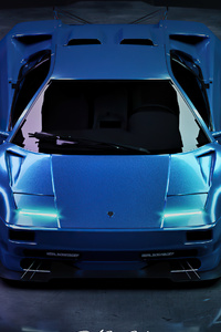 360x640 Custom Widebody Lamborghini Diablo