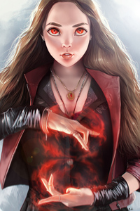 Cute Scarlet Witch