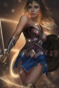 Cute Wonderwoman 4k