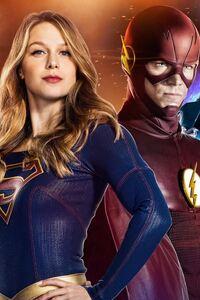 CW DC Superhero Crossover