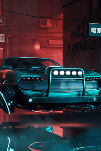 Cyber Cars 4k