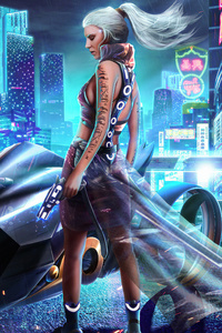 750x1334 Cyber City Girl Bike