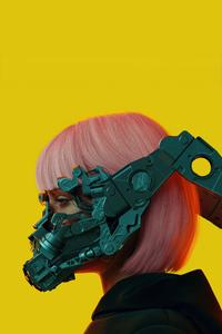 1080x1920 Cyber Girl 5k